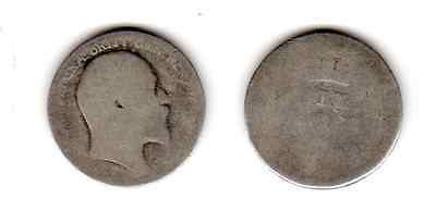 1902 - 1910 6d SIXPENCE six pence King Edward VII (a)