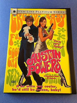Austin Powers International Man of Mystery (DVD/1997)Mike Myers/Elizabeth Hurley