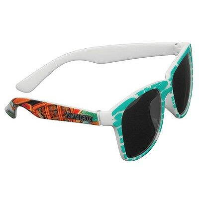 Santa Cruz LOOK OUT Wayfarer Style Skateboard Sunglasses JADE MULTICOLOR