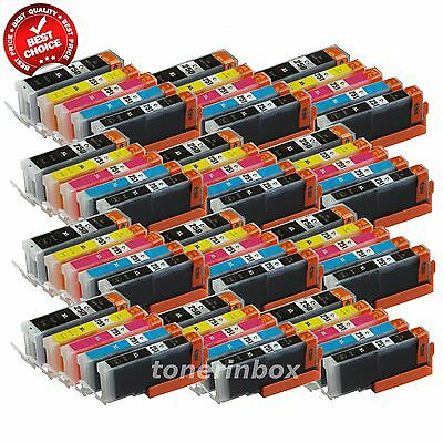 60pk PGI-250XL CLI251XL Ink Set For Canon Pixma MG5420 MG5520 MG6320 MX722 MX922