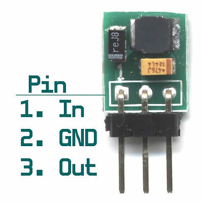 Tiny size 100mA PFM controlled 0.8~3v to 3.3v Step Up Boost DC to DC Converter