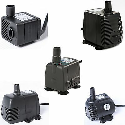 50 - 1455 GPH Submersible Pump Aquarium Fish Tank Fountain Water Hydroponic