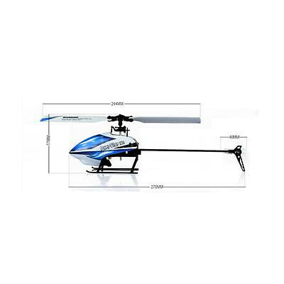 WLtoys V977 Power Star X1 6CH 2.4G Brushless 3D Flybarless RC Helicopter 43YS