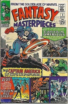 Fantasy Masterpieces 3 From The Golden Age of Marvel Silver Age 1966