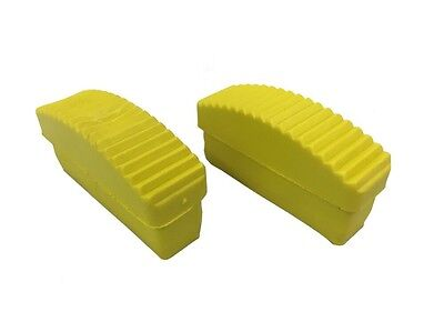 Pack Of 2  -  84 mm x 22 mm REPLACEMENT RUBBER Step LADDER Safety Feet