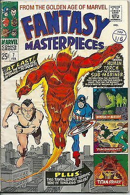 Fantasy Masterpieces 7 From The Golden Age of Marvel Silver Age 1967