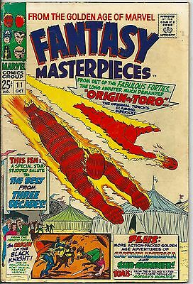 Fantasy Masterpieces 11 From The Golden Age of Marvel Silver Age 1967