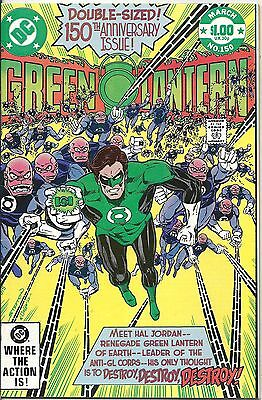 Green Lantern 150 DC 1982 150th The Anniversary Issue High Grade