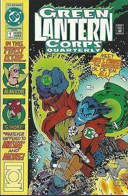 Green Lantern Corps Quarterly 1 DC 1992 First Issue high grade
