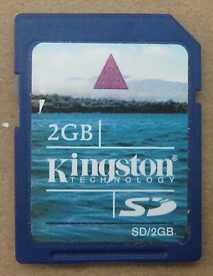 Kingston Technology 2GB 2 GB SD SD/2GB  Memory Flash Picture Card USA Seller
