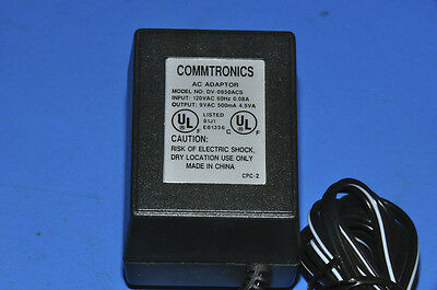 NEW in Box DV-0950ACS Power Supply Charger AC Adapter 9VAC 500mA 4.5VA