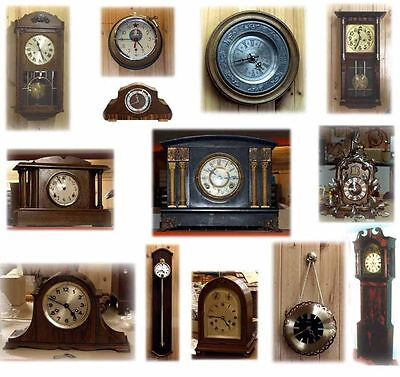 Horology How to Repair & Adjust Watches Clocks 50+ Books Clock repairman on CD