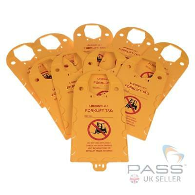 Forklift Do Not Use Tag Holder (Pack of 10)