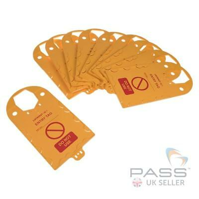 Confined Space Entry Tag Holder (Pack of 10)