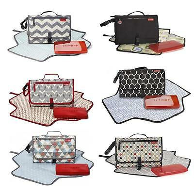 Skip Hop Pronto Portable Wipe Clean Foldaway Baby Changing Mat + Wipes Case