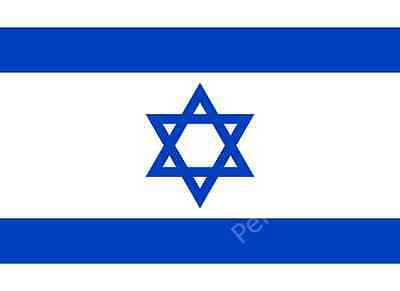 ISRAEL FLAG - ISRAELI NATIONAL FLAGS - Hand, 3x2, 5x3, 8x5 Feet