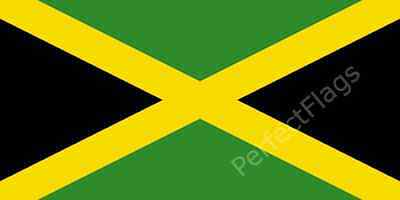 JAMAICA FLAG - JAMAICAN NATIONAL FLAGS - Hand, 3x2, 5x3, 8x5 Feet