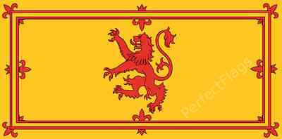 SCOTLAND RAMPANT LION FLAG - SCOTTISH NATIONAL - Hand, 3x2, 5x3, 8x5 Feet
