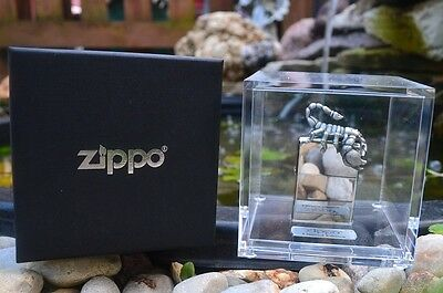 Zippo Lighter - 3D Scorpion - Rare European Release - Limited Numbered Edition