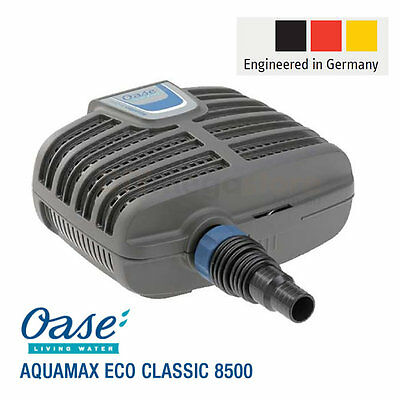 OASE Aquamax Eco Classic 8500 - German Engineered Pond Pump