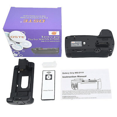 DSTE MB-D11 Battery Grip for Nikon D7000 With Wireless Remote Control as EN-EL15