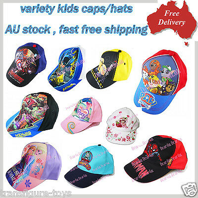 New Kid's Boy's Girl's Base Ball Baseball Sun Cap Hat Sport Summer Minion TMNT