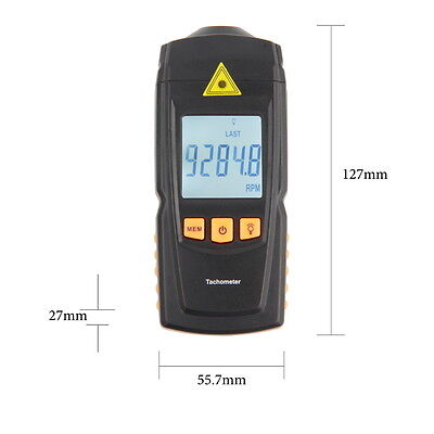Digital Rotation Speed Digital Tachometer Measuring Tester OK