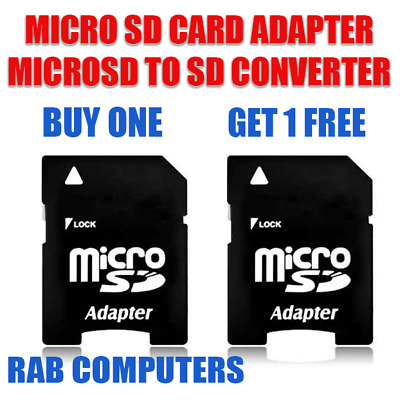 Micro Sd Adaptor Sdhc Memory Card Adapter Converter To Sd Card 2 For 1