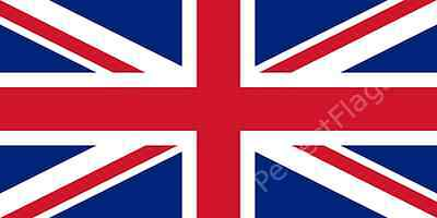 UNION JACK FLAG - UNITED KINGDOM NATIONAL FLAGS - Hand, 3x2, 5x3, 8x5 Feet