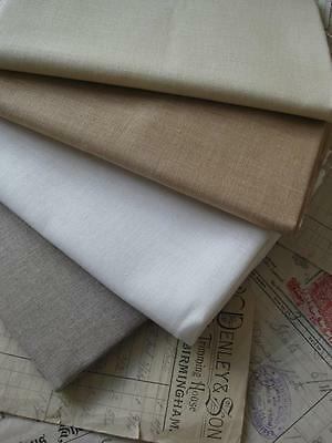 Sajou 40 Count French Embroidery Linen- Cross Stitch/ Counted Work- 4 Colours
