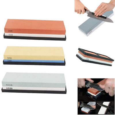 Portable Double-sided Stone Waterstone Whetstone Sharpeners for Knife Scissors