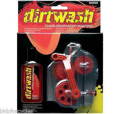 Weldtite Dirt Wash Chain Cleaning Machine Tool Bike Bicycle And 75Ml Degreaser