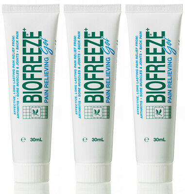 Biofreeze Pain Relief Gel 30ml Pain Relief From Arthritis,Sore Muscles,Back Pain