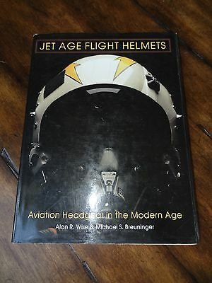 JET AGE FLIGHT HELMETS GUIDE BOOK BY Alan Wise / Breuninger Pilot gear
