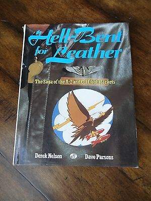 A2 G1 Flight jackets GUIDE - HELL BENT FOR LEATHER NELSON & PARSONS AAF USAAF