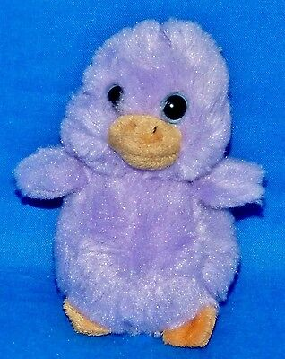 "Ty LAVENDER Purple Chick Easter Soft (4"") Basket Beanie 2012 Boys Girls 3+ NT"