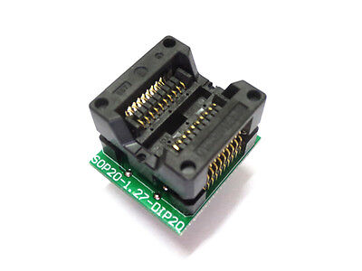 new SOP20 to DIP20 programmer adapter Socket adapter