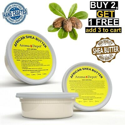 8 oz. Ivory Raw African Shea Butter From GHANA Natural Organic UNREFINED Pure