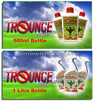 Trounce Deep Impact SpiderMite Bug Insect Killer 100% Organic Pest Control