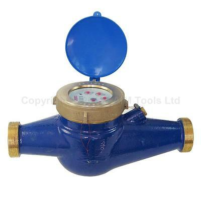15181040 Agricultural Irrigation Large Volume Brass Water Flow Dry Meter Counter