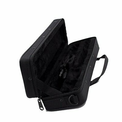 Black New Oxford Cloth Flute Case Carrying Gig Bag Adjustable Shoulder Strap