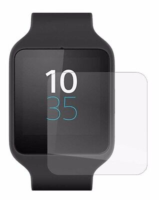 Set of 4 Screen Protector Full display cover For Sony Smartwatch 3