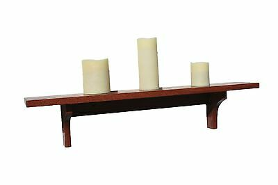 Wall Shelf in Solid Oak Wood Mission Style/Arts and Crafts Made in the USA
