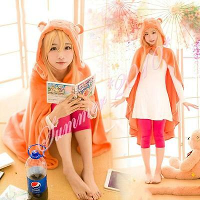 Anime Himouto Umaru-chan Cosplay Cloak Flannel Coat Daily Warm Blanket Quilt New