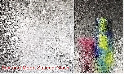 8X10 Spectrum Stained Glass Sheet  - CLEAR CRYSTAL ICE S100GG SHEET Glass