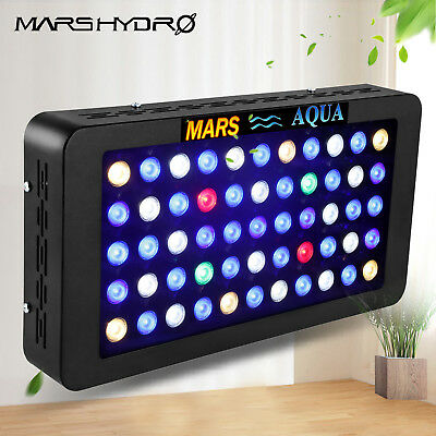 Mars 165W Dimmable LED Aquarium Light Full Spectrum for Reef Coral Marine SPS