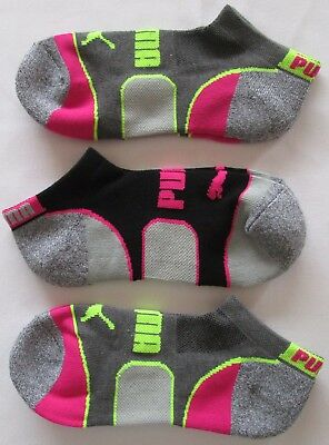 Adidas Ankle Low Cut Womens Ladies Climalite Sports Running Socks 3 Pack Sz 5-10