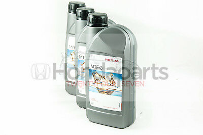 Genuine Honda MTF-3 Gearbox Oil - 3 Litres - Civic Integra S2000 CRV Accord Jazz