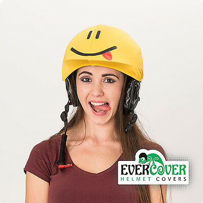Smiley helmet cover is suitable for technically all kinds of sport helmets