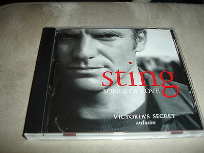 STING Songs Of Love Victoria's Secret Exclusive 8 Tracks CD